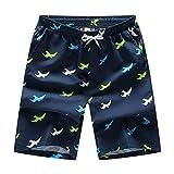 LUOLUO Costume da Bagno Uomo, Short da Bagno Uomo Pantalocini Boxer da Bagno Calzoncini Uomo Pantaloncini da Spiaggia Pantaloncini Estivi da Uomo Costumi Shorts da Mare