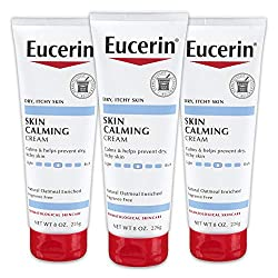 in budget affordable Euselin Soothing Skin Cream – Rich in Natural Oatmeal, Whole Body Lotion for Dry Itchy Skin – 8…