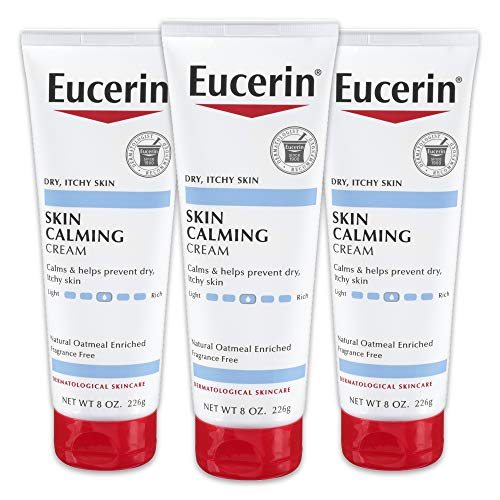 Eucerin Skin Calming Daily Moisturizing Creme 8 Ounce by Eucerin