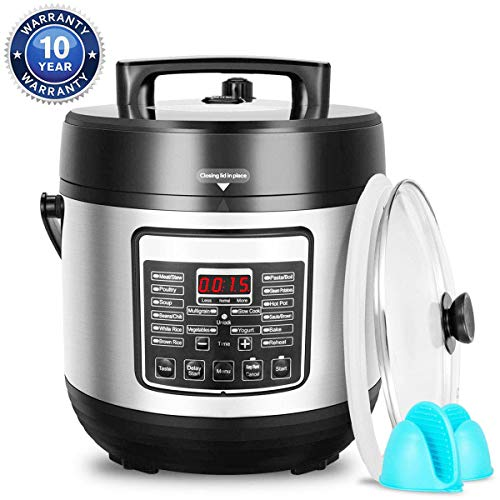 Deenkee 10-in-1 Multi-Function Pressure Cooker