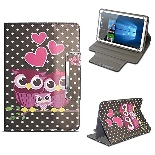 NAUC Archos 101 Platinum 3G Tablet Tasche Hülle Schutzhülle Case Cover Stand Etui Bag, Farben:Motiv 5