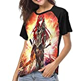 EDMKO Fairy Tail Erza Scarlet T Shirts Anime Graphic 3D Printing Leisure Sport Short Sleeve Tshirt for Womens