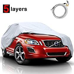 Best Weatherproof Car Cover - KAKIT SUV Car Cover