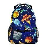 IUBBKI Sac à Dos Cartable Scolaire pour garçons Filles école élémentaire Space Planet 2021606