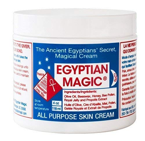 Egyptian Magic All Purpose Skin Cream | Natural Healing for Skin, Hair, Anti Aging, Stretch Marks, Cellulite, Irritations, and more | 100% Natural Ingredients | 6oz Bundle (4oz and 2oz)