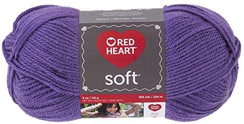RED HEART Soft Yarn, Lavender