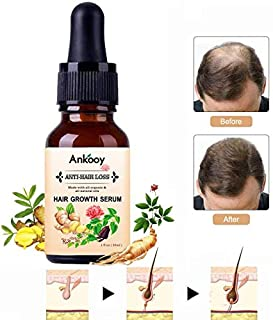 Hair Growth Serum,2019 Hair Growth Oil,Hair Growth,Stops Hair Loss, Hair Thinning Treatment, Hair Growth Treatment,Hair Serum, Thinning,Balding,And Promotes Hair Regrowth For Women and Men