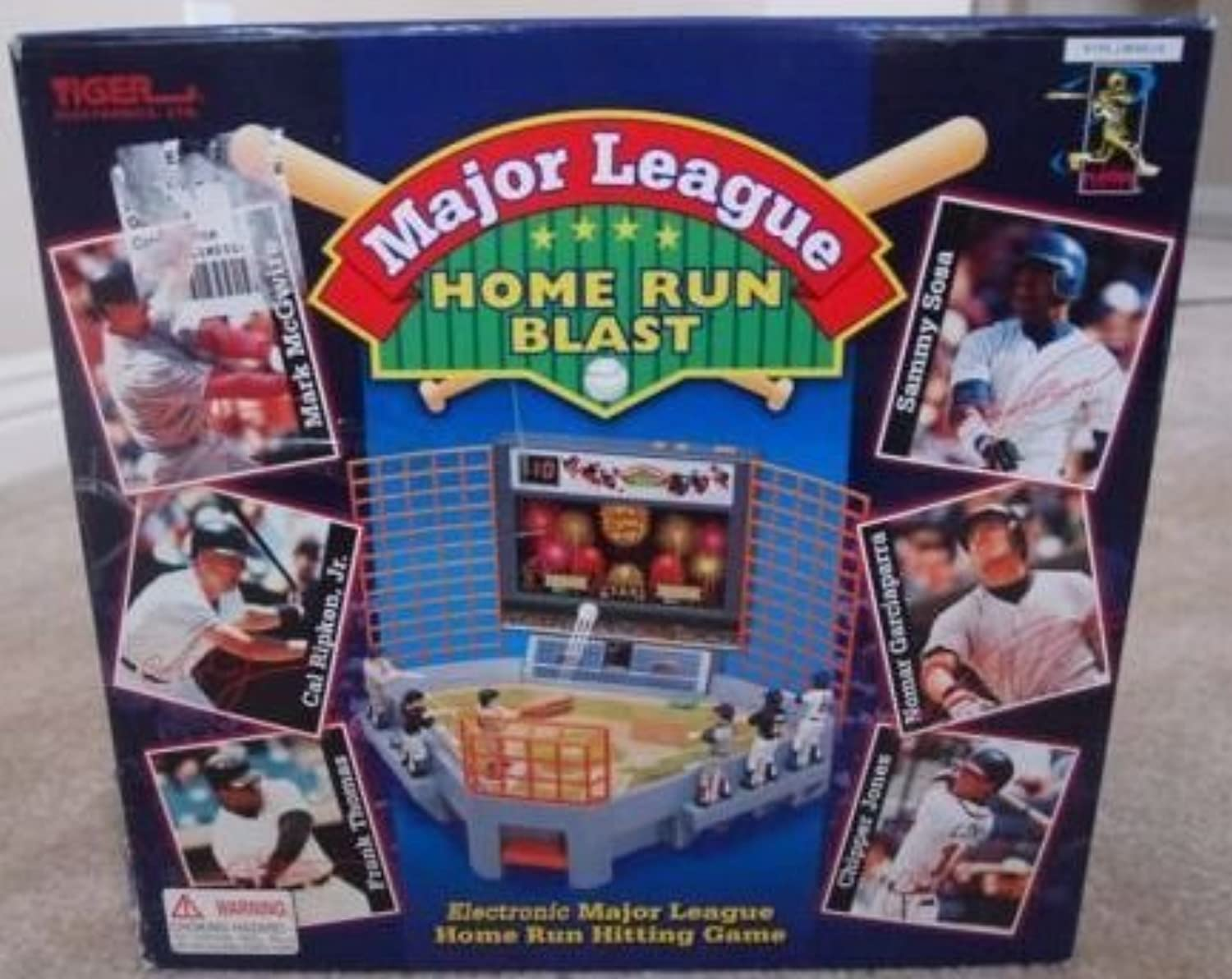 1999 Major League Home Run Blast Electronic Game