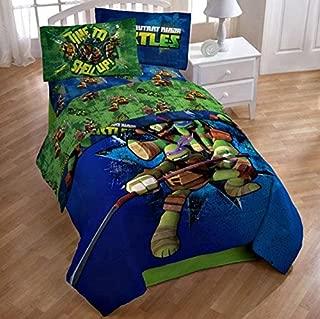 Teenage mutant ninja turtles twin/full comforter and full sheets