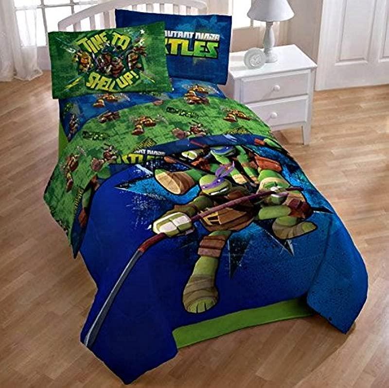 Teenage Mutant Ninja Turtles Twin Full Comforter And Full Sheets