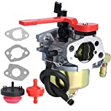 951-10956A Carburetor for MTD Cub Cadet Snow Blower 751-10956 951-10956A 751-10956 751-10956A 751-14018 951-14018 751-12612 951-12612 and Huayi 161SA 161S Carb Replacement Kit with Primer Bulb Hose
