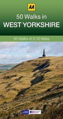 50 Walks in West Yorkshire (AA 50 Walks) [Idioma Inglés]: 50 Walks of 2-10 Miles