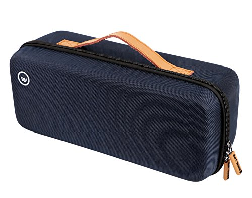 Hard EVA Case Portable Travel Carrying Case Storage Bag for Bose SoundLink Revolve+ Plus Bluetooth Speaker with Charging Cradle by Excel Life