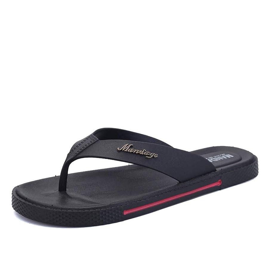 ALLAK Flip Flops for Men Non Slip Summer Beach Slippers Large Size Extra Wide Platform Thong Sandals
