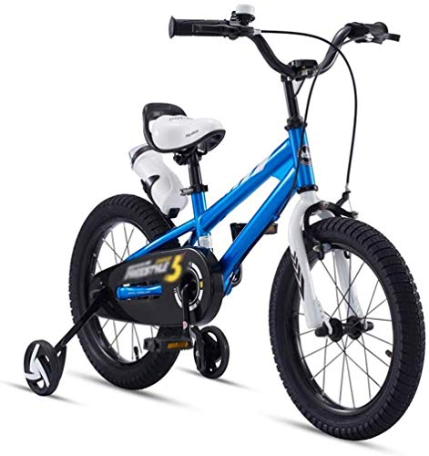 Xiaoyue Fahrräder Mini Kleines Fahrrad Spiele im Freien Reise Sommer Junge und Mädchen-Fahrrad-Kinder-Dreirad (Farbe: Blau, Größe: 12 Zoll) lalay (Color : Blue, Size : 18inches)