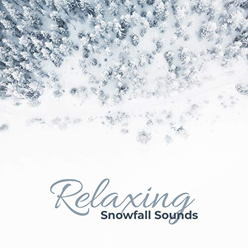 Relaxing Snowfall Sounds – Light Wind Breeze and Falling Snow in Forest