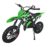 SYX MOTO Kids Dirt Bike Holeshot 50cc Gas Power Mini Dirt Bike Pit...