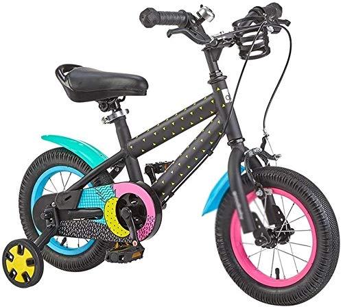 LAZNG Fahrräder Vorschul Travel Bike 14 Zoll 16 Zoll Boy Pedal Fahrrad 3 bis 12 Jahre alt Fahrradkinder drinnen (Farbe : C, Größe : 16inches)