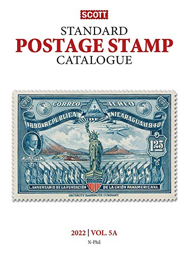 Compare Textbook Prices for 2022 Scott Stamp Postage Catalogue Volume 5: Cover Countries N-Sam: Scott Stamp Postage Catalogue Volume 5: Countries N-Sam Scott Stamp Postage Catalogues 178th ed. Edition ISBN 9780894876158 by Kloetzel, Jim,Bigalke, Jay,Snee, Chad