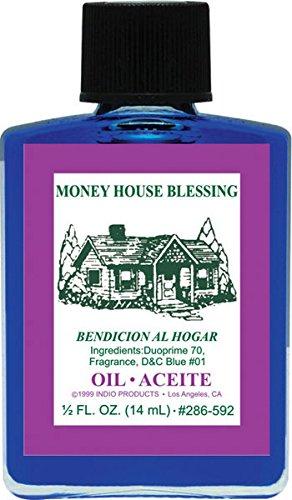 Indio Money House Blessing Oil - 0.5oz