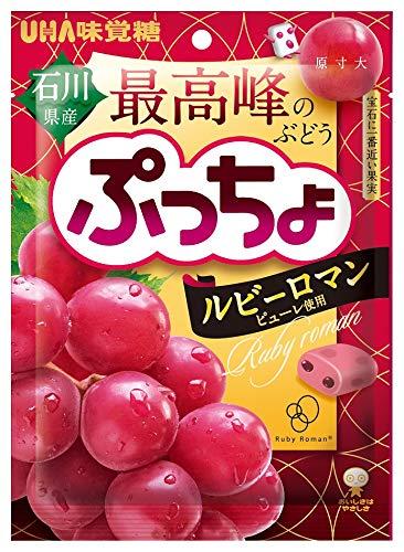 UHA味覚糖 ぷっちょ袋 ルビーロマン 83g ×4個