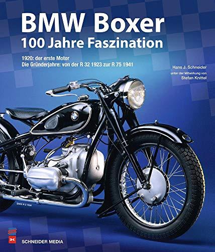 BMW Boxer - 100 Jahre Faszination: 1920: der erste Motor, Die Gründerjahre: von der R 32 1923 zur R 75 1941