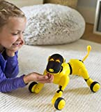 HearthSong Gizmo The Voice Controlled Robotic Dog - Electronic Pet Toy for Kids - 13 L x 5 W x 7' H, Yellow
