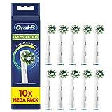 Oral-B CrossAction Cabezales de recambio con tecnología CleanMaximiser, tamaño de buzón, Pack...