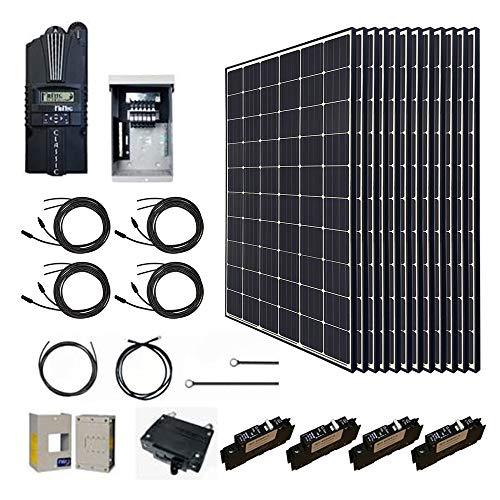 Renogy 3600 Watt Monocrystalline Solar Cabin...