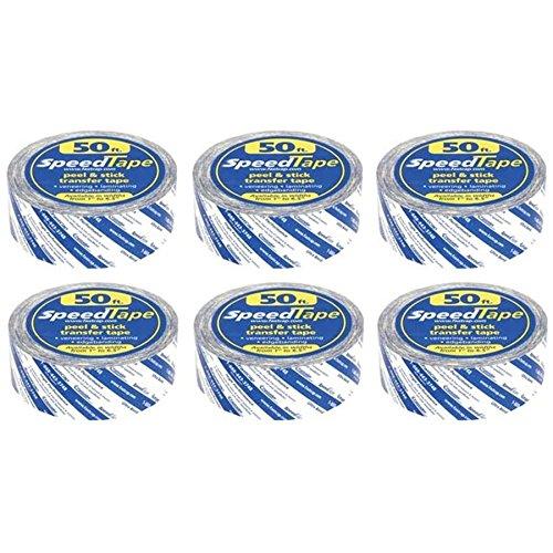 Fastcap STAPE.2X50 SpeedTape 2 x 50 Speed Tapes abziehen und aufkleben, 6er-Pack