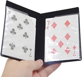 LbojailiAi Trick Stage Magician Props Kids Toy Magic Card Apareciendo Illusion Optical Wallet para Niños Multicolor