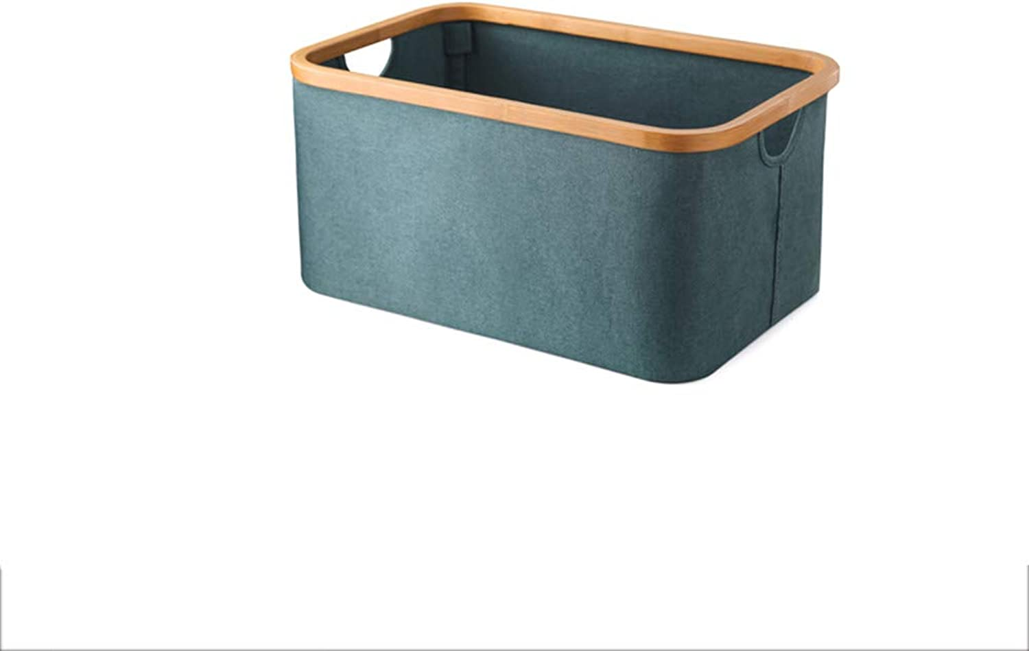 Dirty Clothes Bag Storage Basket Dirty Clothes Bin Foldable Bathroom Storage Solid color Storage Multifunction ZHANGQIANG (color   bluee)