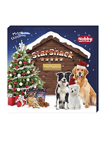 Nobby StarSnack Adventskalender Hund, 1er Pack (1 x 265 Grams)