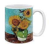 N\A Classic Girasoli Arte Blu di Van Gogh in Ceramica Tazza di caffè Tazza da tè, 11 OZ