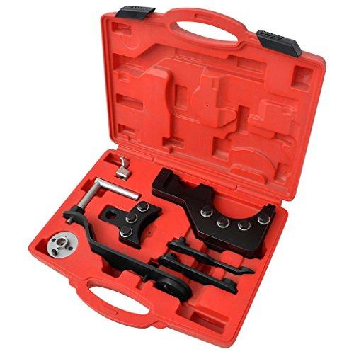 Luckyfu 210367 Kit 8 pièces Outil de Calage du Moteur Diesel VAG 2.5/4.9d/TDi pd. Accessoires pour véhicules boîte à Outils du véhicule réparation du véhicule