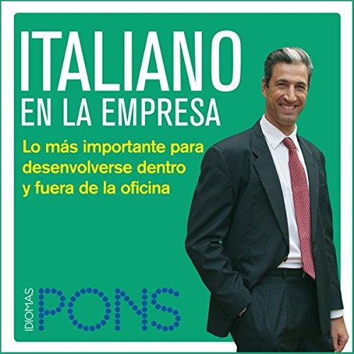 Italiano en la empresa [Italian in the Office] audiobook cover art