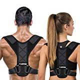 LUDTOM Posture Corrector for Men and Women, Upper Back Posture Brace for Clavicle Support, Adjustable Back Straightener, Providing Pain Relief from Neck, Back and Shoulder(Universal)