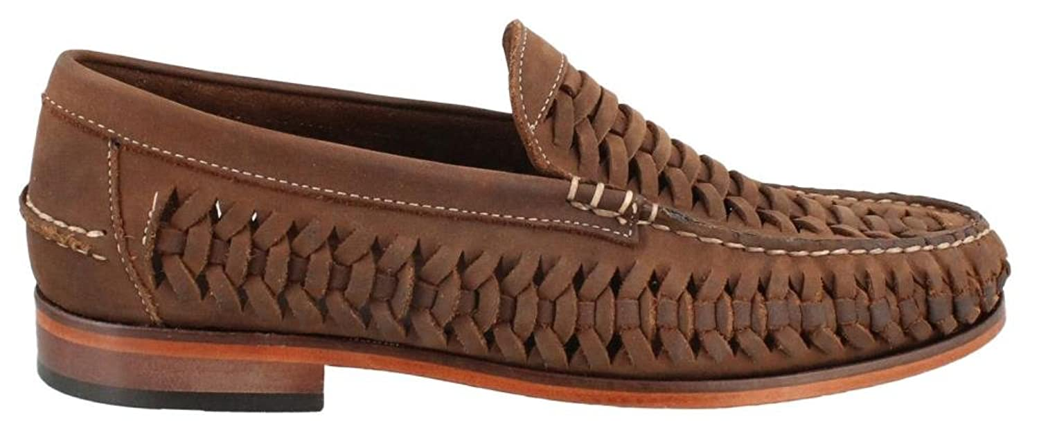 [Florsheim] Mens Berkley weave Leather Penny Loafer