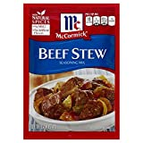 McCormick Beef Stew Seasoning Mix (Pack of 3) 1.5 oz Packets