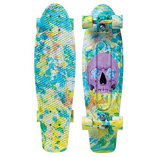 Penny Graphic complete skateboard, Skull Splatter, 27