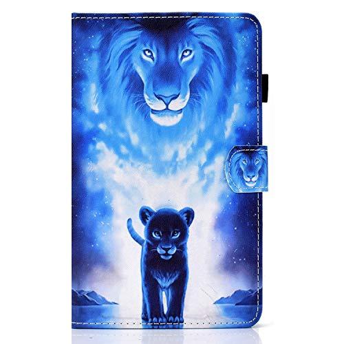 ZL One - Funda para tablet Lenovo Tab M10 Plus (piel sintética, función atril, cierre magnético)