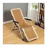 Silla de vestidor para silla de salón reclinable al aire libre, cojín de sección delgada para verano, alfombra de paja fresca, resistente al desgaste, pequeña almohadilla fría engrosada sin rebabas