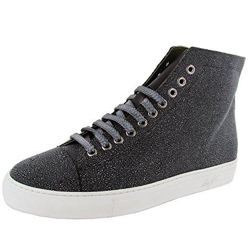 Donald J Pliner Signature Mens Lajos-GCCU Sneaker Shoe, Black/Black, US 11