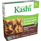 Kashi, Chewy Nut Butter Bars, Salted Chocolate Chunk, Vegan, Gluten-Free, 6.15oz (5 Count)