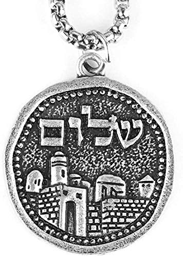 huangshuhua Paisaje Jerusalén Collar Cristiano Religioso Is