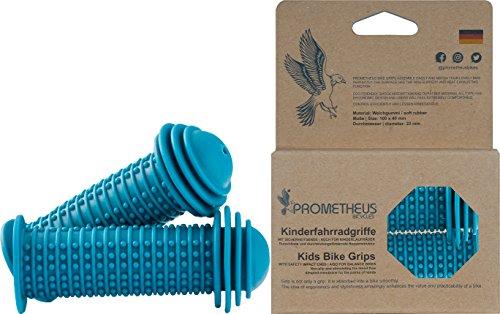 PROMETHEUS Puños - mangos - apretones para manillar de bicicleta con protección frente a golpes | 22 mm | Edición 2019