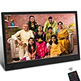 Jimwey Digital Electronic Photo Frame, 13.3 Inch Digital Picture Frame with Motion Sensor, 16:9 IPS...