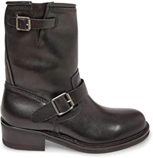 Best mens leather boots with buckles Reviews