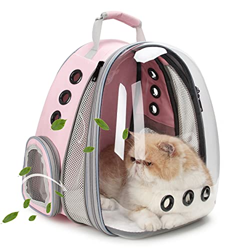 LOLLIMEOW Pet Carrier Backpack, Bubble Backpack Carrier,...