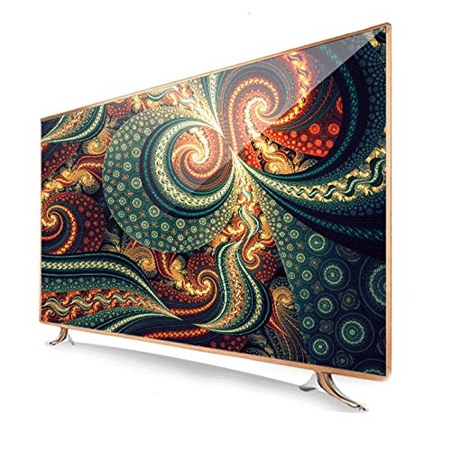 HAOLA 42/50/55/60 Pulgadas 4K Ultra Thin HD Televisores Smart TV, Televisores WiFi USB Incorporado HDMI DVI AV VGA Conector de Auriculares Smart Android TV Decodificación de Audio DTS